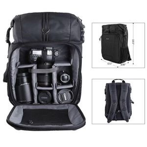 PROWELL Camera Backpack Professional Bag Gadget